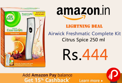 Airwick Freshmatic Complete Kit Citrus Spice 250 ml