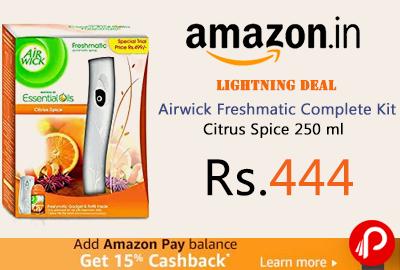 Airwick Freshmatic Complete Kit Citrus Spice 250 ml