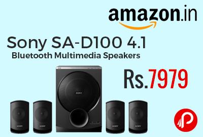 Sony SA-D100 4.1 Bluetooth Multimedia Speakers