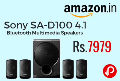 Sony SA-D100 4.1 Bluetooth Multimedia Speakers