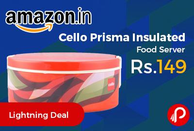 Cello Prisma Insulated Food Server