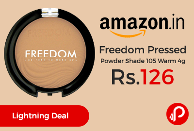 Freedom Pressed Powder Shade 105 Warm 4g