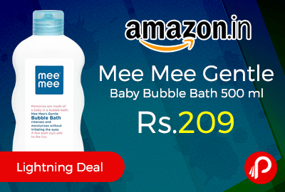 Mee Mee Gentle Baby Bubble Bath 500 ml