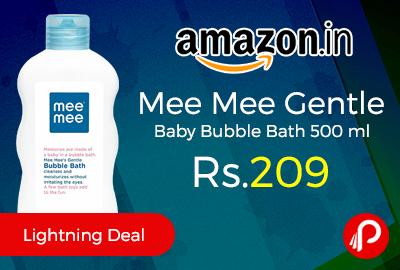 Mee Mee Gentle Baby Bubble Bath 500 ml