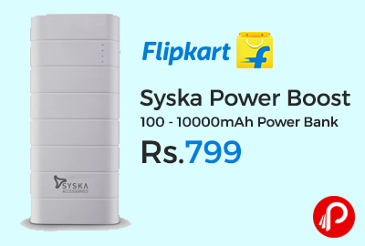 Syska Power Boost 100