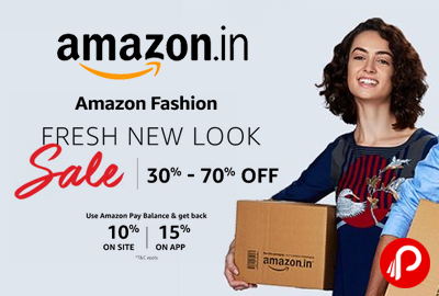 Amazon Fashion Fresh New Look Sale