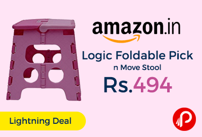 Logic Foldable Pick n Move Stool
