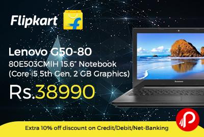 """Lenovo G50-80 80E503CMIH 15.6"""" Notebook"""