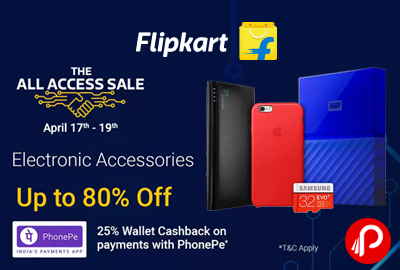 The Access Sale - Electronic Accessories upto 80% off ...