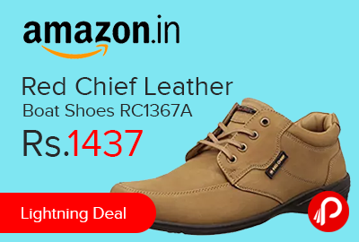 Red Chief Leather Boat Shoes