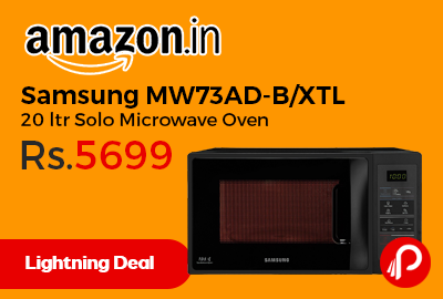 Samsung MW73AD-B/XTL 20 ltr Solo Microwave Oven
