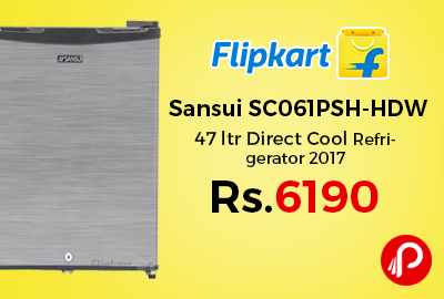 Sansui SC061PSH-HDW 47 ltr Direct Cool Refrigerator 2017