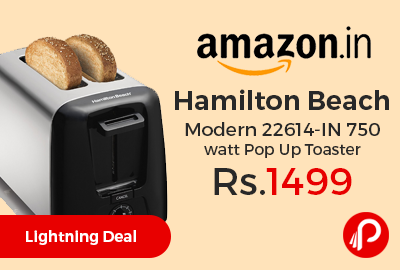 Hamilton Beach Modern 22614-IN 750 watt Pop Up Toaster