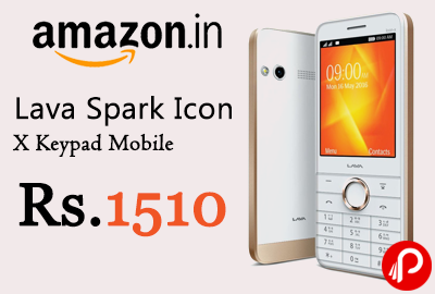 Lava Spark Icon X Keypad Mobile