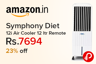Symphony Diet 12i Air Cooler 12 ltr Remote