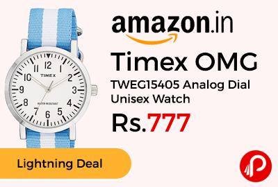 Timex OMG TWEG15405 Analog Dial Unisex Watch