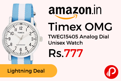 Timex OMG TWEG15405 Analog Dial Unisex Watch