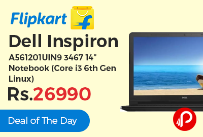 """Dell Inspiron A561201UIN9 3467 14"""" Notebook"""