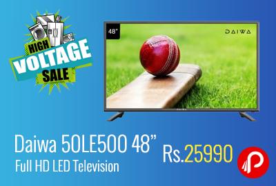 """Daiwa 50LE500 48"""" Full HD LED Television a"""