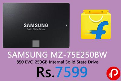 SAMSUNG MZ-75E250BW 850 EVO 250GB Internal Solid State Drive