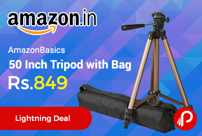 AmazonBasics 50 Inch Tripod with Bag