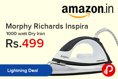 Morphy Richards Inspira 1000 watt Dry Iron