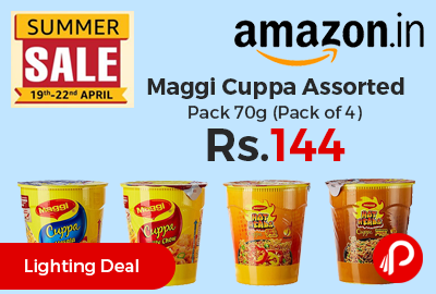 Maggi Cuppa Assorted Pack 70g