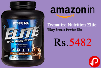 Dymatize Nutrition Elite Whey Protein Powder 5lbs