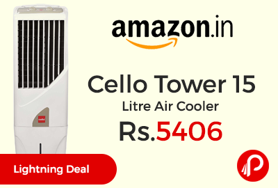 Cello Tower 15 Litre Air Cooler