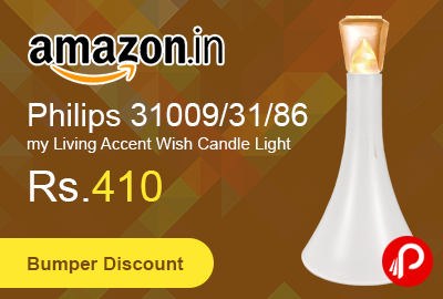 Philips 31009/31/86 my Living Accent Wish Candle Light