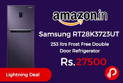 Samsung RT28K3723UT 253 ltrs Frost Free Double Door Refrigerator