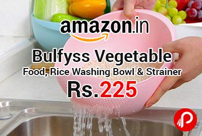 Bulfyss Vegetable, Food, Rice Washing Bowl