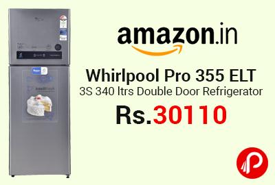 Whirlpool Pro 355 ELT 3S 340 ltrs Double Door Refrigerator