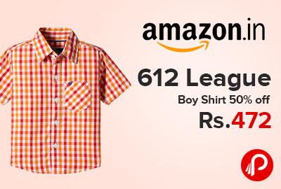 612 League Boy Shirt