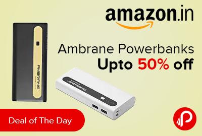 Ambrane Powerbanks