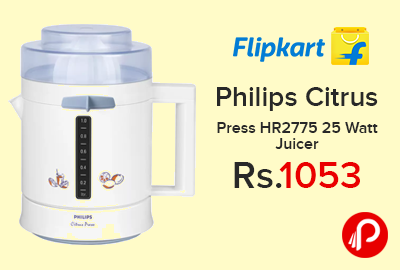 Philips Citrus Press HR2775 25 Watt Juicer