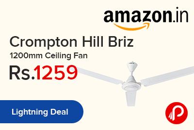 Crompton Hill Briz 1200mm Ceiling Fan