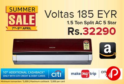 988dcaf5524 voltas 1.5 ton 5 star split ac price - Best Online Shopping deals ...