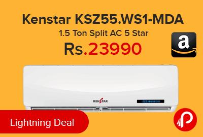 Kenstar KSZ55.WS1-MDA 1.5 Ton Split AC 5 Star