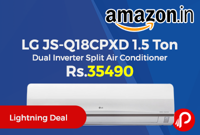 LG JS-Q18CPXD 1.5 Ton Dual Inverter Split Air Conditioner