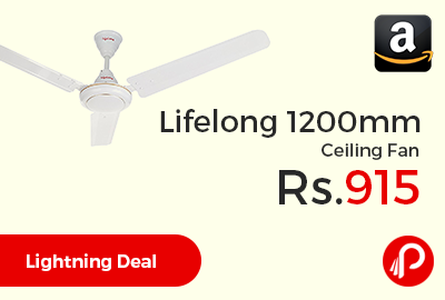 Lifelong 1200mm Ceiling Fan