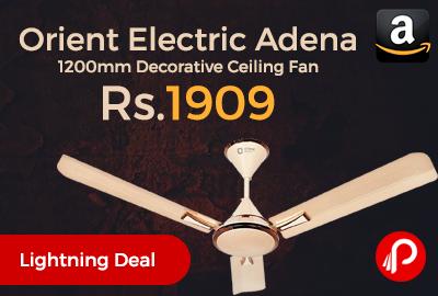 Orient Electric Adena 1200mm Decorative Ceiling Fan