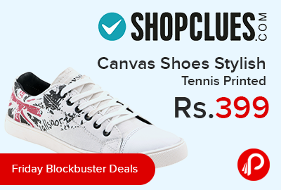 Friday Blockbuster Deals - Canvas Shoes Stylish Tennis Printed