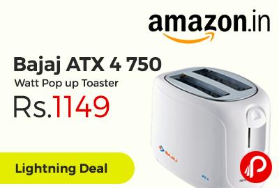 Bajaj ATX 4 750 Watt Pop up Toaster