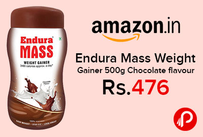 Endura Mass Weight Gainer 500g