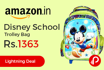 Disney School Trolley Bag