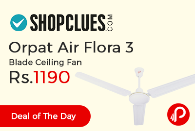 Orpat Air Flora 3 Blade Ceiling Fan