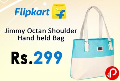 Jimmy Octan Shoulder Hand held Bag