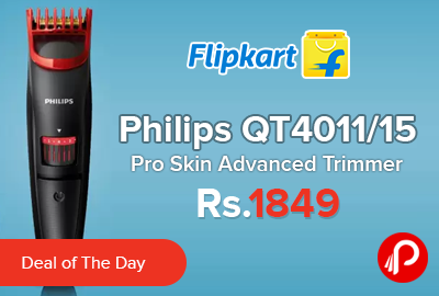 Philips QT4011/15 Pro Skin Advanced Trimmer
