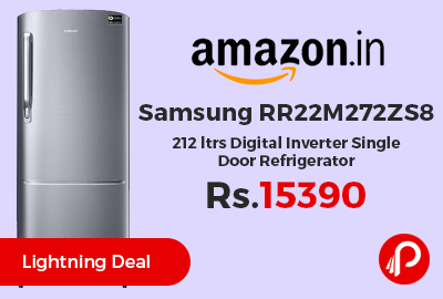Samsung RR22M272ZS8 212 ltrs Digital Inverter Single Door Refrigerator